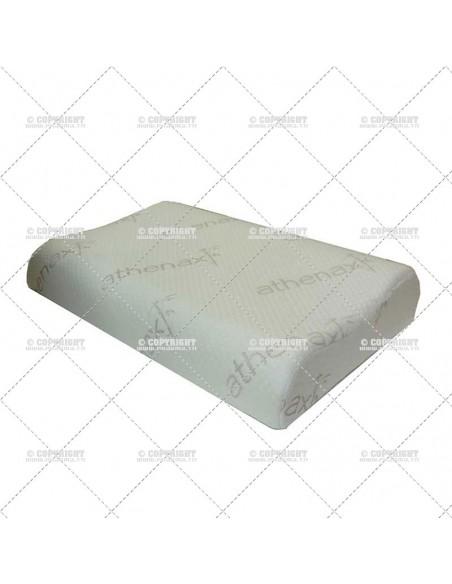 Oreiller à mémoire de forme curve gel visco ATHENAX HERDEGEN