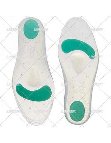 Paire de semelles orthopédique en silicone ELASTMAX 5401 OPPO MEDICAL